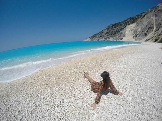Myrtos Beach, Kefalônia Ilhas Gregas