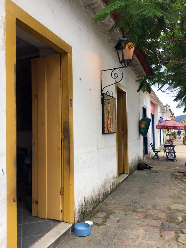Atelier Aecio Sarti centro histórico de Paraty
