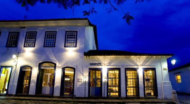 frente pousada Porto Imperial Paraty