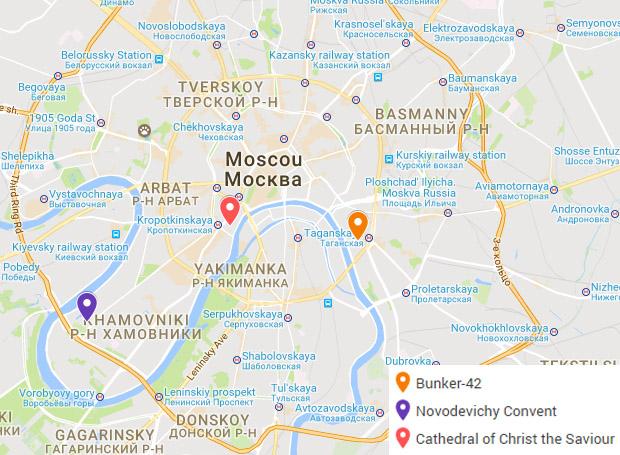 O que fazer em Moscou - Roteiro de 1 dia