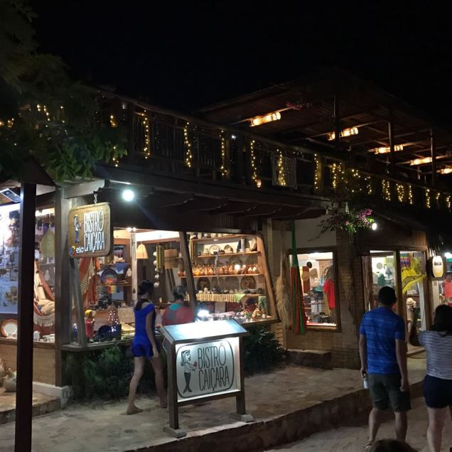 Onde comer em Jericoacoara Bistrô Caiçara