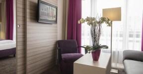 Hotel Mirabell onde ficar em Munique, alemanha. Hotel com ótimo custo-benefício