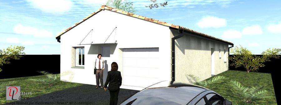 Maison de Forme rectangulaire de 90 m² avec Garage Intégré - Lavernose Lacasse (31)