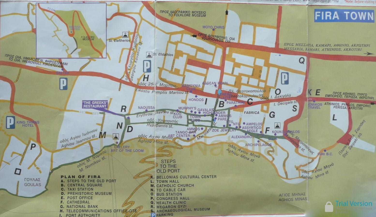 map fira santorini