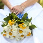 Yellow and blue wedding- fresh, crisp and fun!