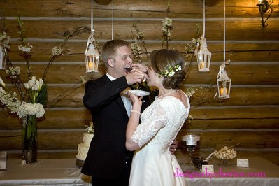 rustic chic Colorado wedding