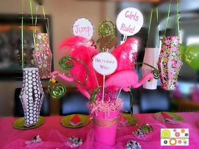 Girly Birthday Party
