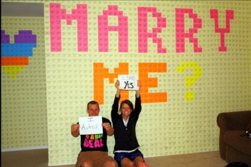 Post-it Marriage Proposal