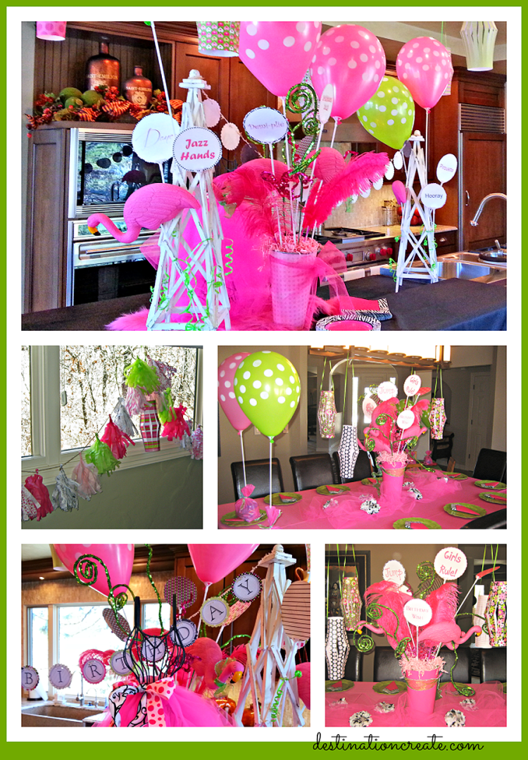 Girly Birthday Party