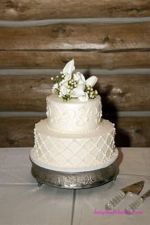 DIY vintage wedding rentals Denver- silver round cake stand