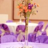 DIY Wedding Rentals Denver- tall glass vase