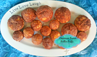 Breakfast muffins- cinnamon brown butter breakfast puffs