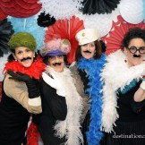 DIY vintage wedding rentals Denver- photo booth props