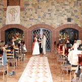 Wedding Decor Rentals Denver- rusty metal plant stand