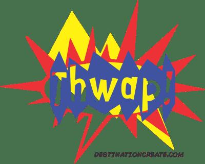 Comic word balloons