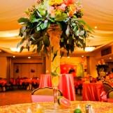 Citrus Centerpieces: Destination Create specializes in LDS wedding reception decorating, styling, planning & rentals.