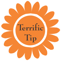 Terrific Tip- orange