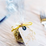 caramel apple wedding favor