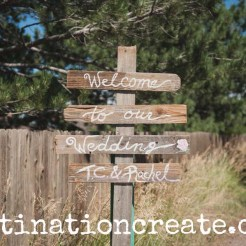 rustic-chic wedding ideas from a Colorado wedding