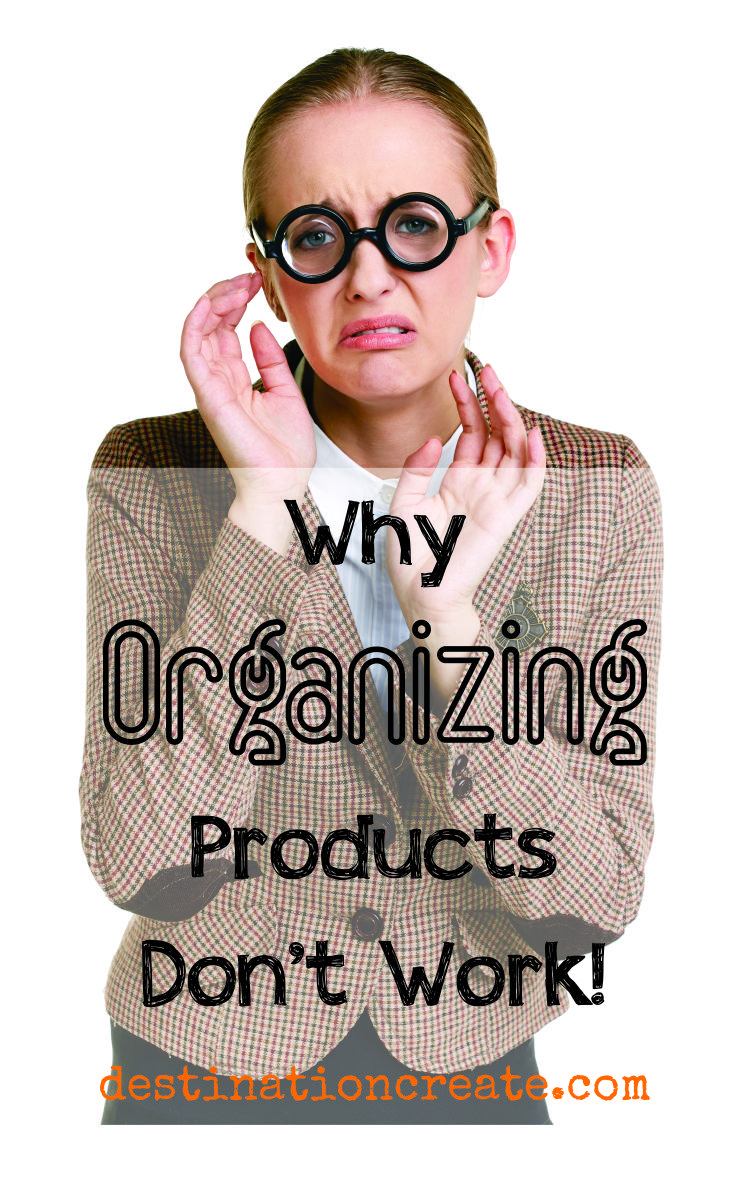 Do I have your attention? Sometimes organizing products just cause more problems and more clutter. Discover why & read the post where you'll learn the secrets to getting rid of clutter!