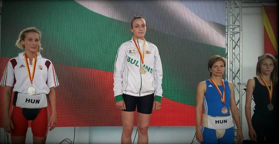 Виолета Генчева - двойна еврошампионка в Македония; 14 юни 2015