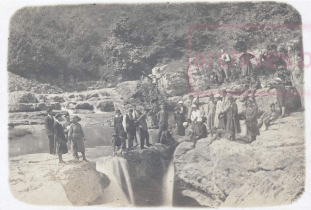 Местност Джендема над Дряновския манастир, май 1922г.