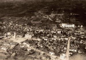 изглед от 1933 г.; снимка на дряновския летец Ганчо Манчев
