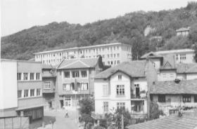родилния дом и училището, 70-те години; Венелин Василев