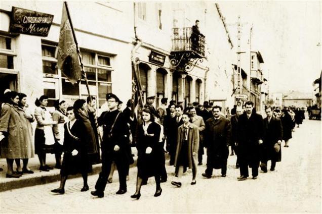 шествие по главната улица, 40-те години