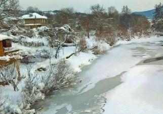 Зима в село Янтра