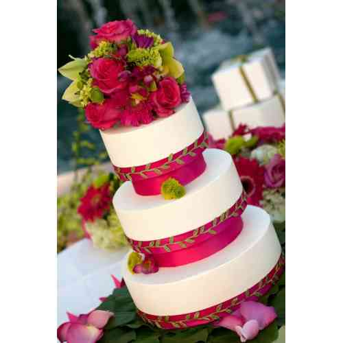 Medium Crop Of Beach Wedding Cake