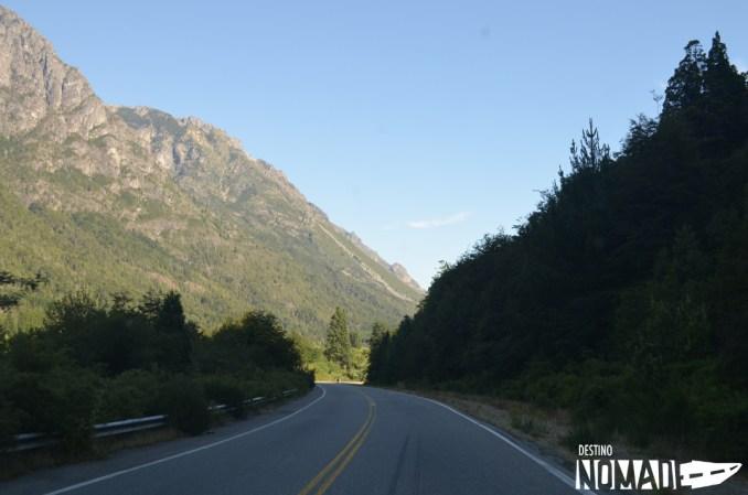 Ruta 40 en El Bolsón, rutas patagónicas