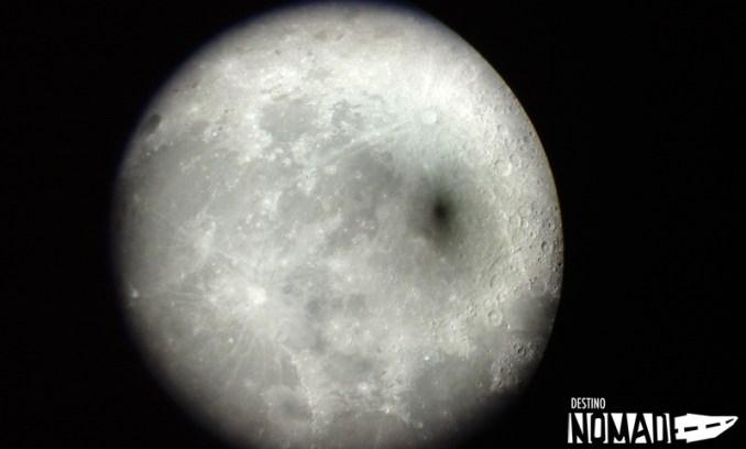 Luna en el PN El Leoncito