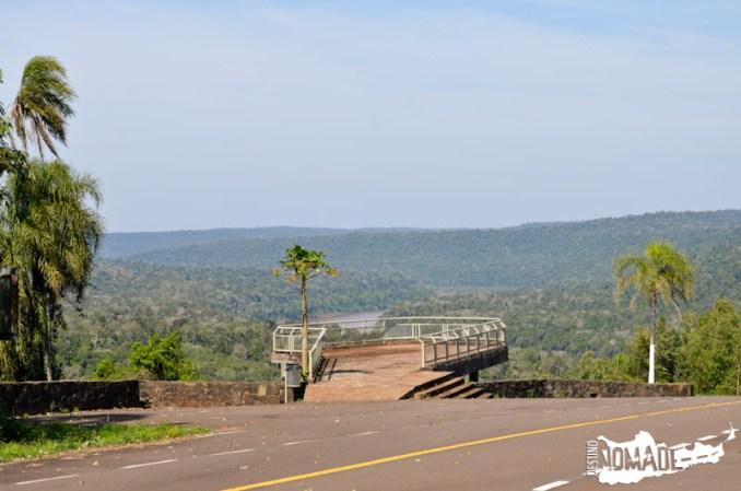 Miradores yendo a Moconá, ruta costera de Misiones