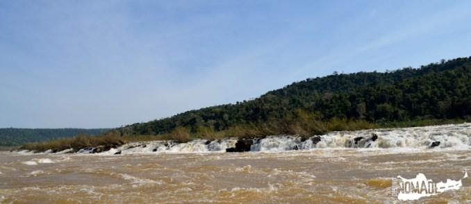 Saltos del Moconá, ruta costera de Misiones