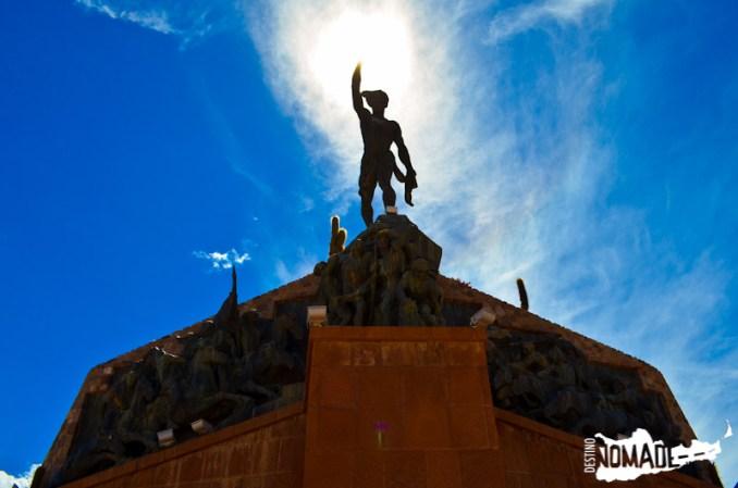 Monumento a los Héroes de la Independencia en Humahuaca, Quebrada de Humahuaca