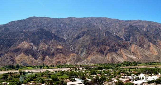 Paleta de Pintor en Maimará, Quebrada de Humahuaca