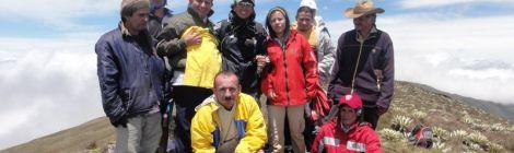 """Reaching the highest peak of the """"Pueblos del Sur"""""""