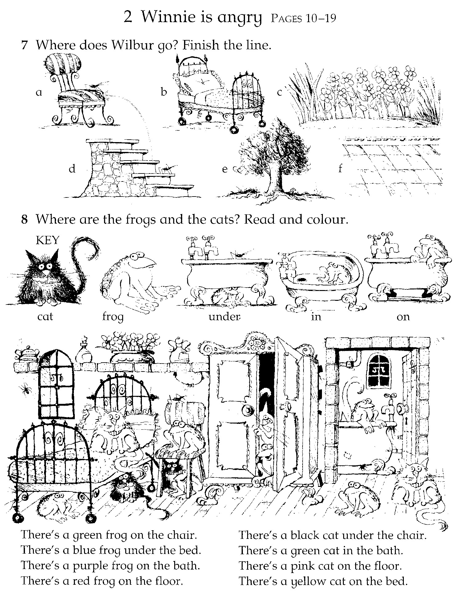 fuentes 39 english corner winnie the witch activity sheets. Black Bedroom Furniture Sets. Home Design Ideas