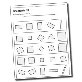 vers les maths GS carrés rectangles