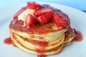 Resep Pancake Strawberry Sederhana