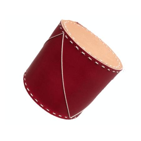 Håndsyet-juletromme-i-kernelæder---Det-Lille-Læderi