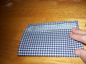fold 2/3 up