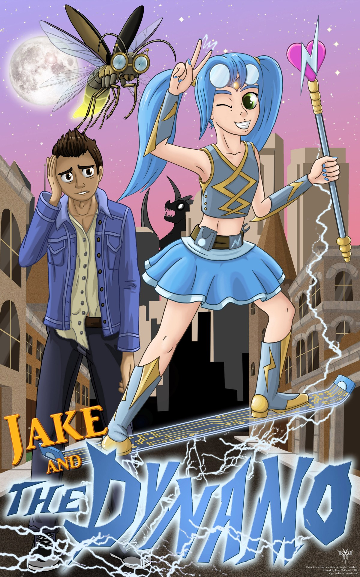 JAKE AND THE DYNAMO Chapter 20