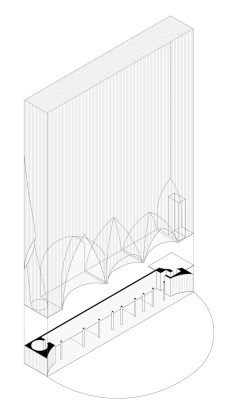 Axonometric view.