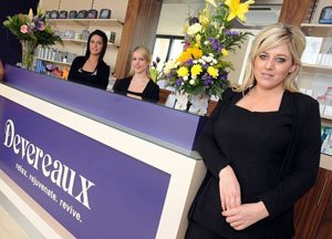 Look inside Devereaux Beauty Clinic