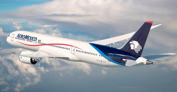 Boeing 787 - Dreamliner de Aeromexico