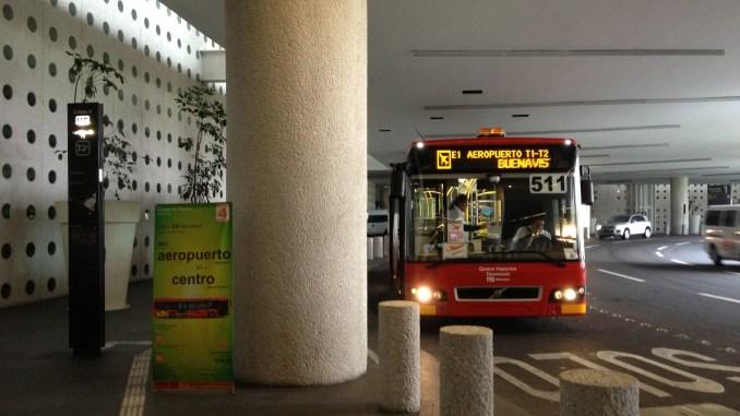 metrobus del aeropuerto de México