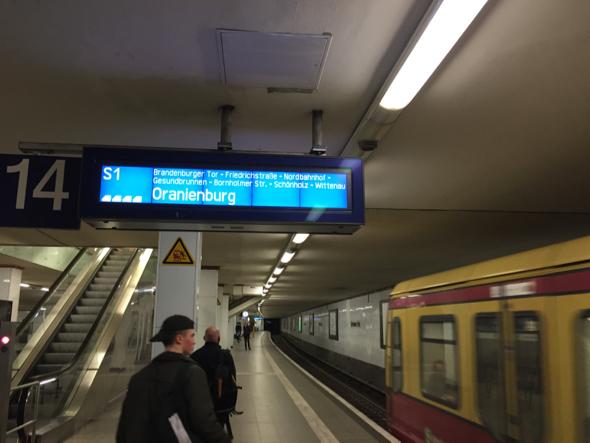 Información de los trenes.