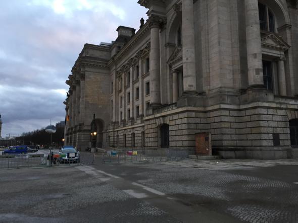 Lugar por donde pasaba el muro de Berlín